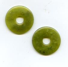 Pi Disc 28mm Korean Jade
