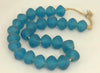 Recycled Glass Extra Large Round Bead Ghana - 3 Colors