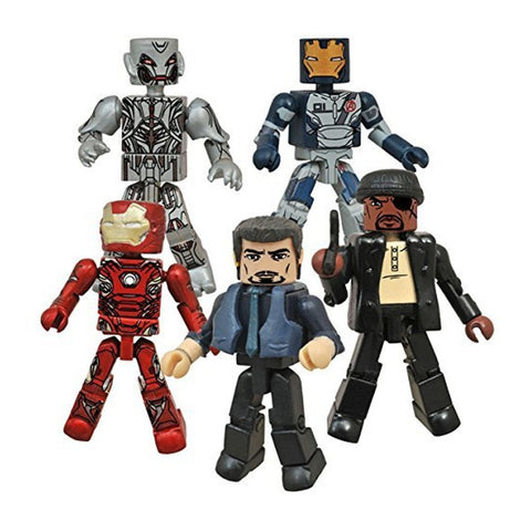 Avengers: Age of Ultron Marvel SDCC Exclusive Minimates Set