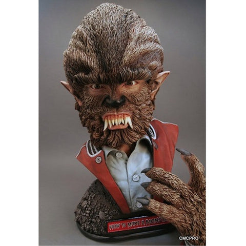 I Was A Teenage Werewolf Monster Bust