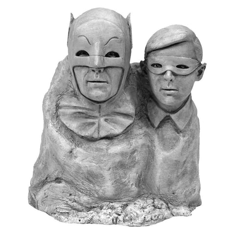 Batman & Robin Batman 1966: Dynamic Duo Monolith Statue