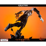 Lunging Kratos God of War Statue