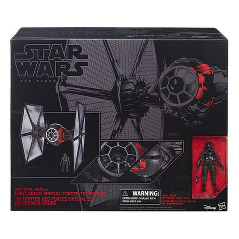 First Order Special Orders TIE Fighter Star Wars Black Series #01 Vehicle