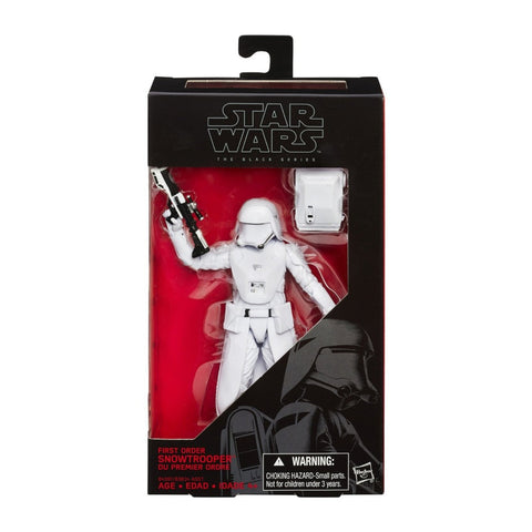 First Order Snowtrooper Star Wars Black Series #12 Action Figure