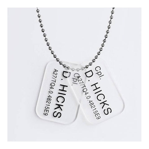 Hicks Aliens Dog Tags Replica