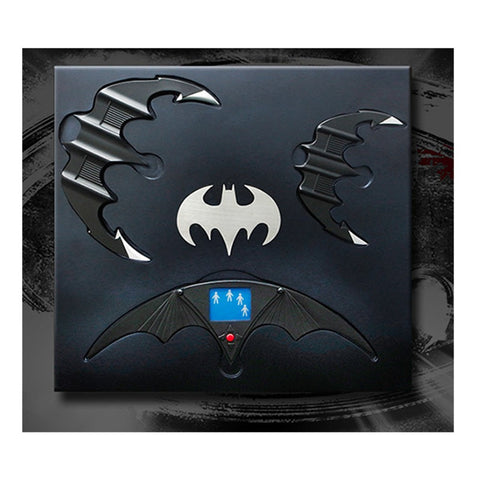 Batman / Batman Returns Batarang Limited Edition Replica Set
