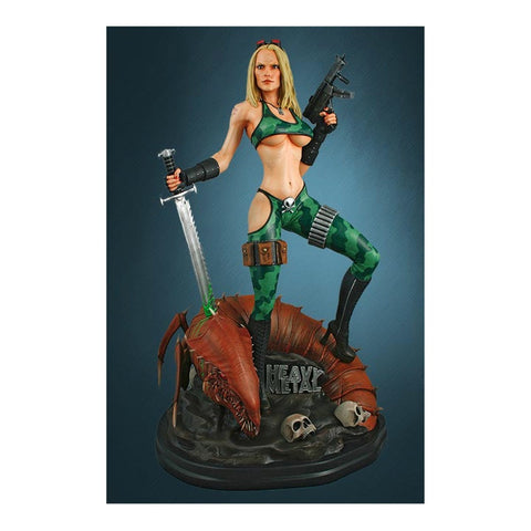 Alien Marine Girl Heavy Metal Limited Edition Statue
