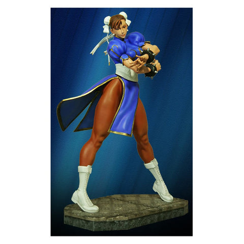 Chun-Li Street Fighter Statue