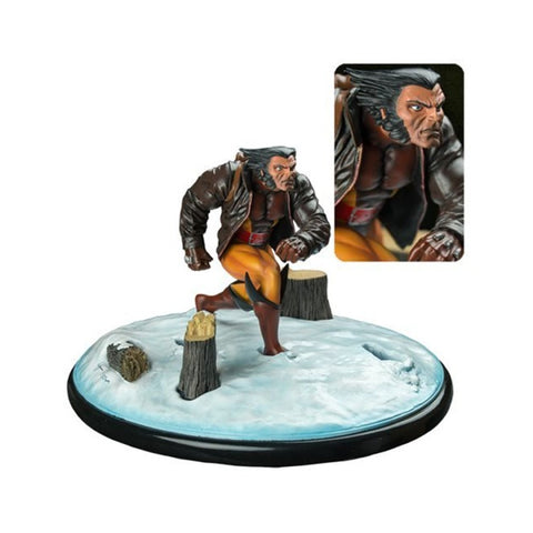 Wolverine in Snow Marvel Premier Collection Resin Statue