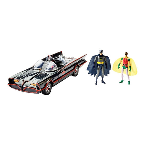 Batmobile Batman Classic TV Series Action Figure Vehicle