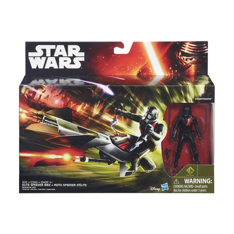 Elite Speeder Bike Star Wars Force Awakens Vehicle Set