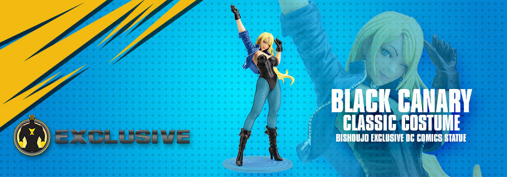 Black Canary Classic Costume Bishoujo Exclusive DC Comics Statue