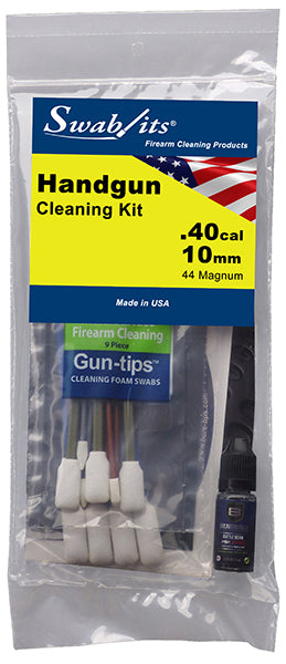 Swab-its® .40cal/10mm/44MAG Handgun Cleaning Kit: 44-003