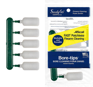.45cal Gun Cleaning Bore-tips® by Swab-its®