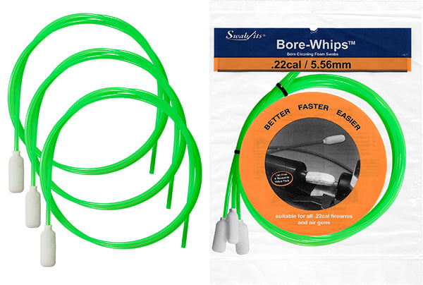 42-0022-12-2: 42-0022: .22cal/5.56mm Pull-Thru Case of Gun Cleaning Bore-whips™ by Swab-its® Dealer Price List