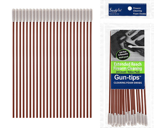 "81-4582: 6"" Extended Reach Gun Cleaning Swab Gun-tips™ by Swab-its®"