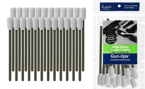 "81-9001: 5"" Large Surface Gun Cleaning Swab Gun-tips™ by Swab-its®"