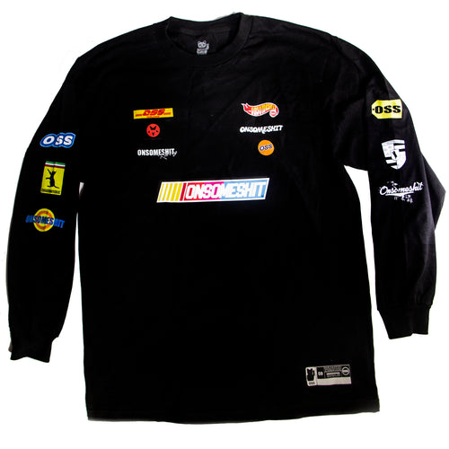 NASCAR LONG SLEEVE T (Black)