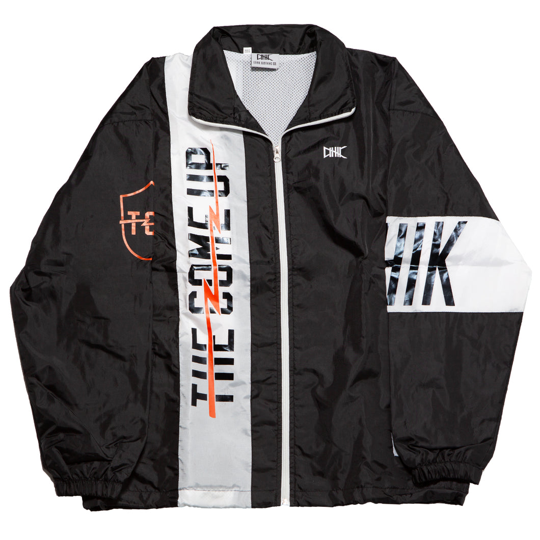 TCU X ETHIK WINDBREAKER BLACK