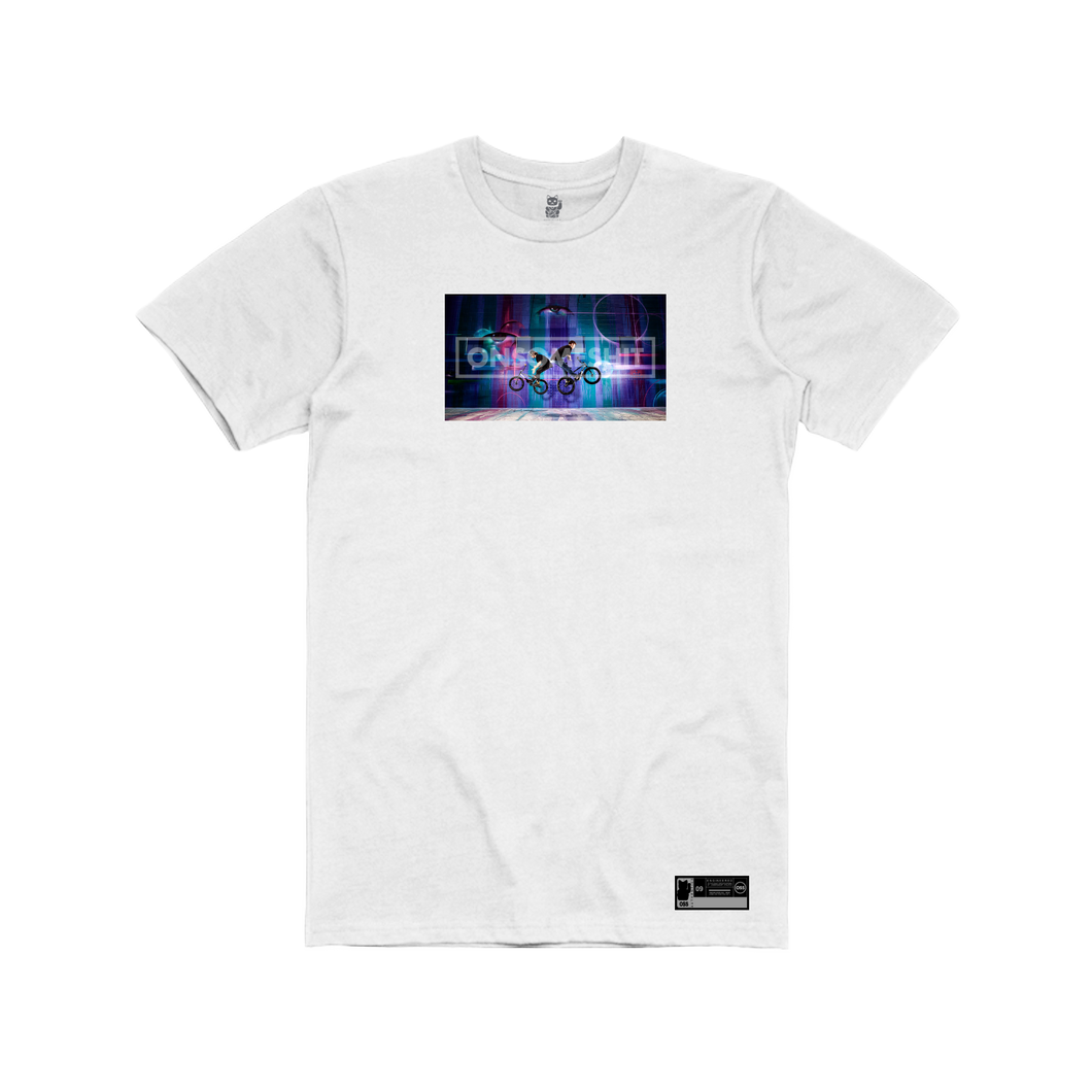 Graffiti Tee - White