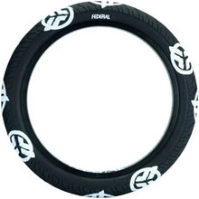 Federal Command Black Tire 2.4 W/ White Logos