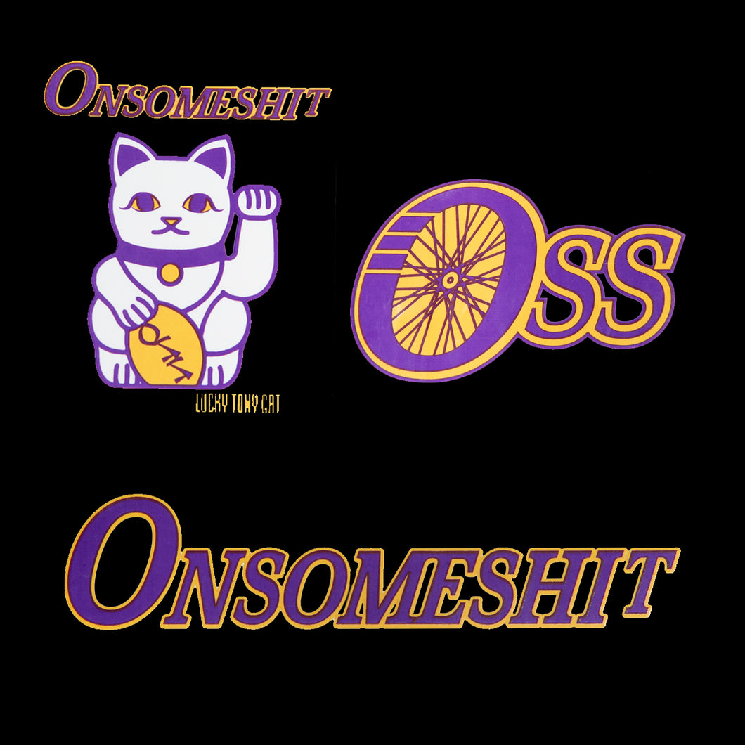 OSS'ers STICKER PACK