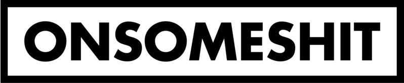 ONSOMESHIT BOX LOGO STICKER