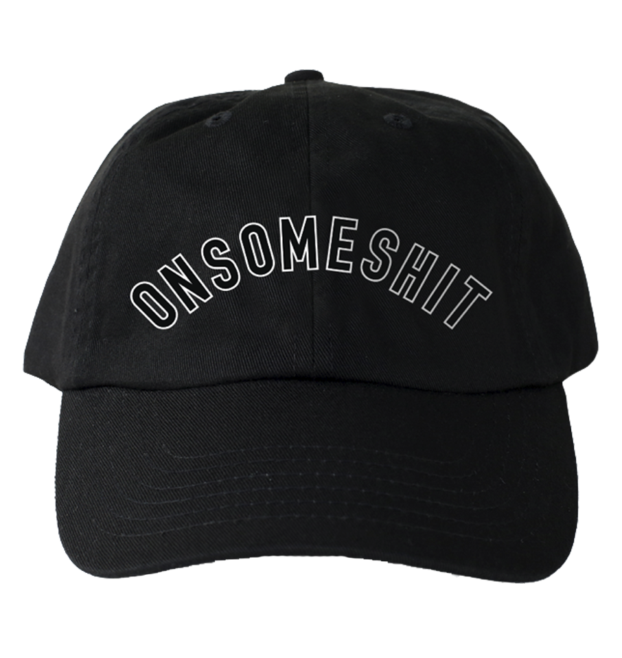 VARSITY DAD HAT - BLACK