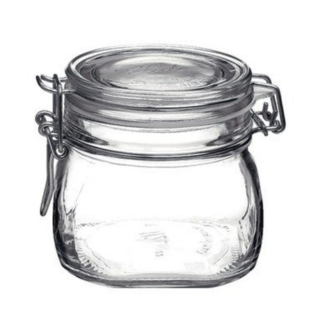Bormioli Rocco Large Glass Fido Canning Jar - .5 Liter