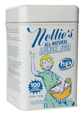 Nellies's Laundry Soda Tin 100 Loads