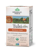 Organic India Tulsi Massala Chai Tea, 18 Bags