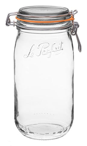 Le Parfait Glass Super Canning Jar - 1.5 Liter