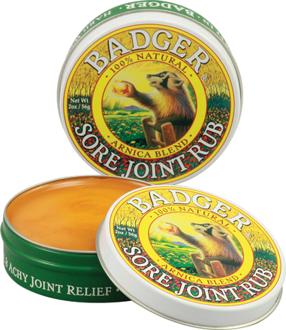 Badger Sore Joint Rub 2oz