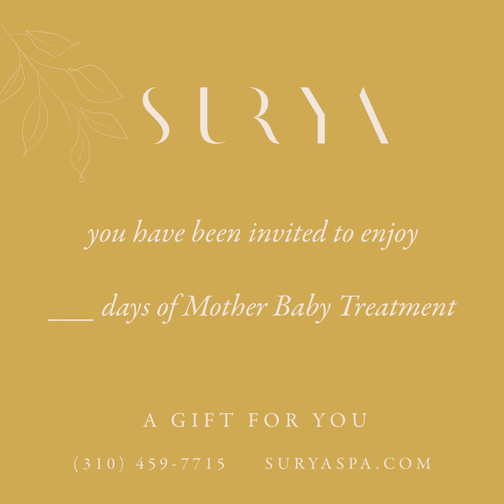 Mother & Baby Treatments: Assessment, Ayurvedic Massage & Baby Massage Class In Your Home