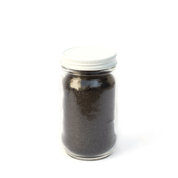 Hawaiian Black Lava Salt, With Activated Charcoal