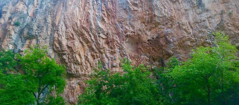 climbing in Colorado (yea I'm in the center of the image if you look closely..