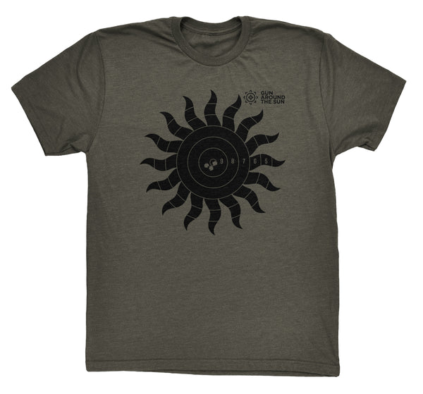 Gun Around The Sun Target Shirt