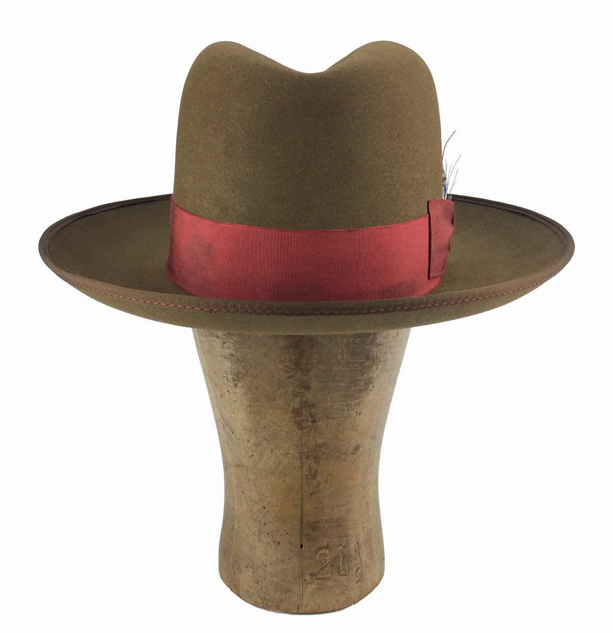 custom fedora western weight beaver blend