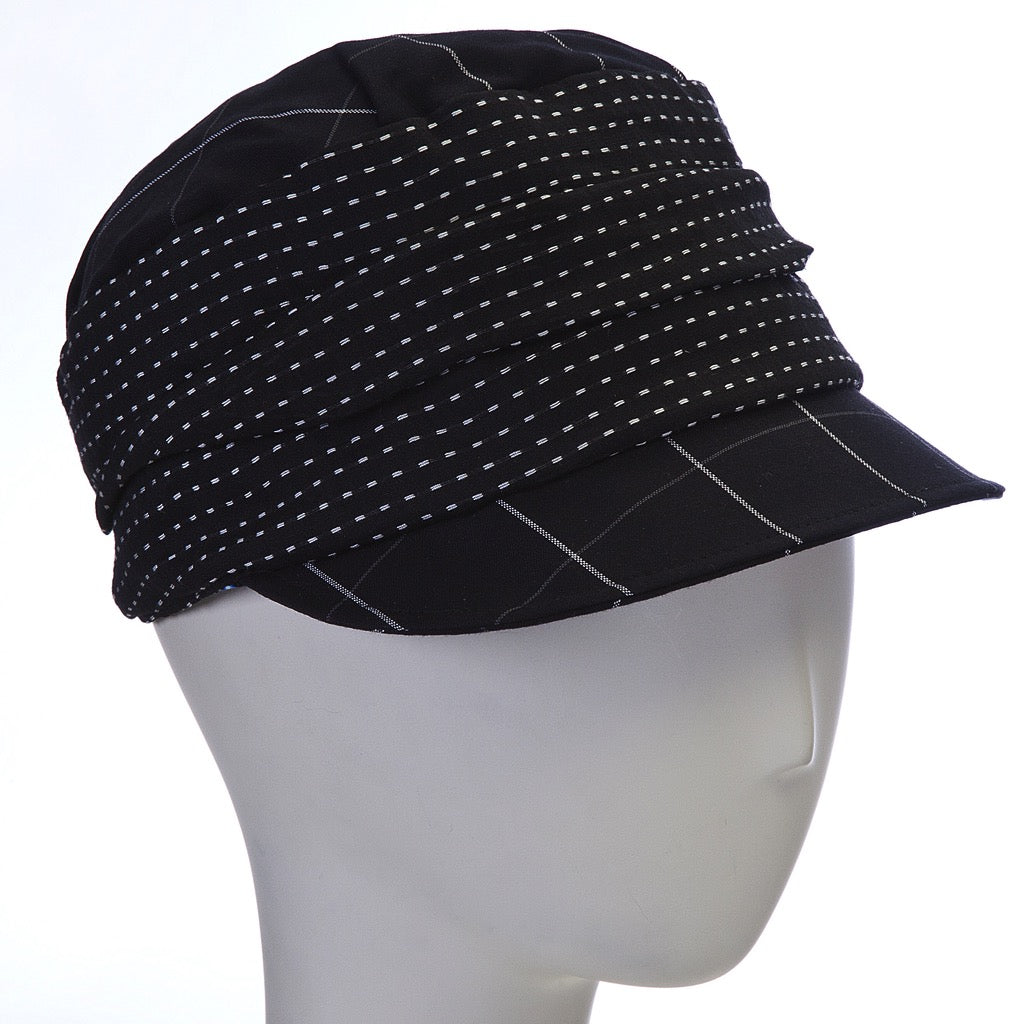 cloth cap ~ black