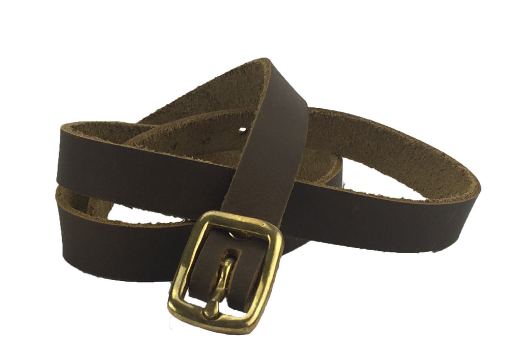 brown buckle