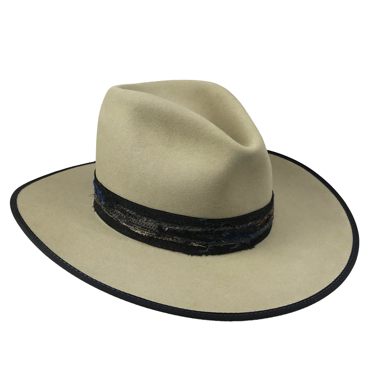 teardrop fedora crown