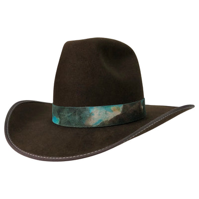 hatWRKS original western weight beaver blend fur felt hat