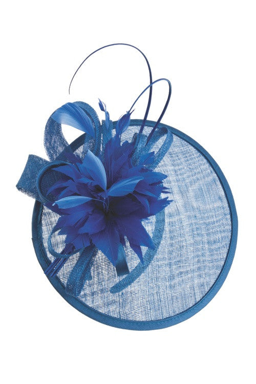 women's sinamay fascinator