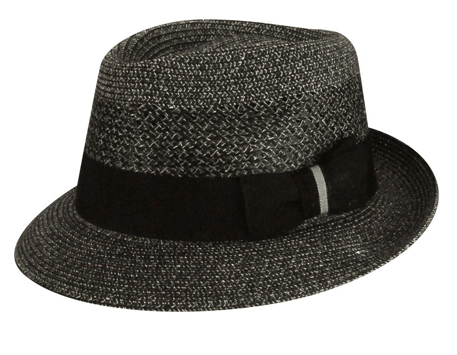 The Hat Outlet Mens Mauve Wool Crushable Outdoor Trilby Montana