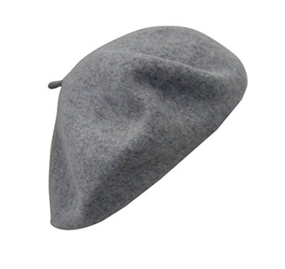 oxford grey beret