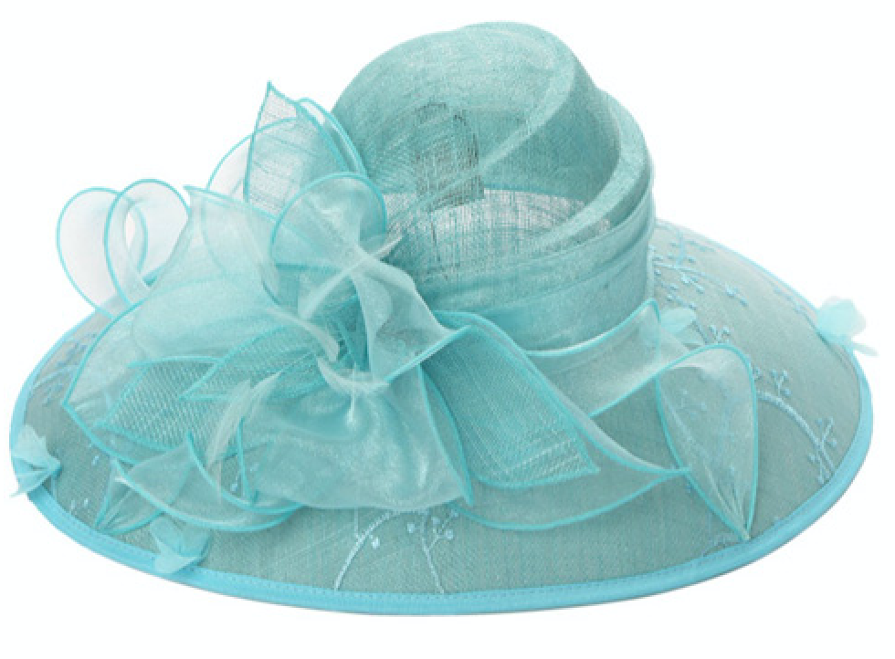 something special breezy it blue women's fascinator