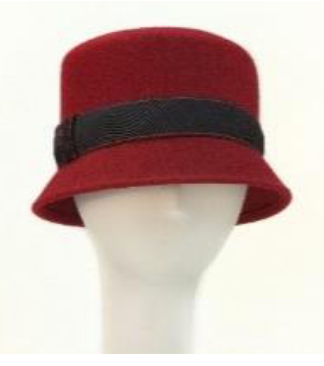 cloche ~ red/blk