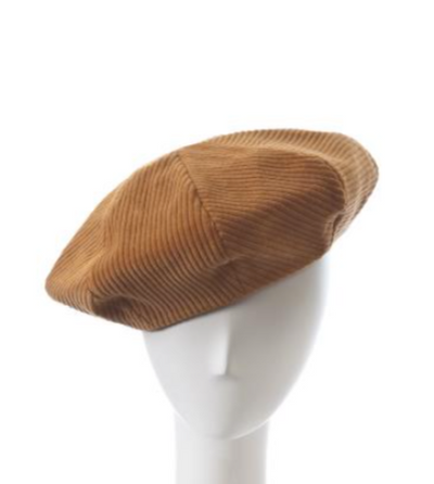 gold Cora beret by giovannio for women
