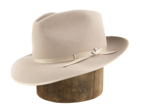 silver-belly Stetson Stratoliner left side