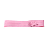puggaree ~ 3 pleat solid ~ pink